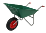 Garden Wheelbarrow - Picador Green 85ltr