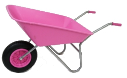 Image of Garden Wheelbarrow - Picador Pink 85ltr