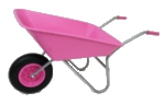 Small Image of Garden Wheelbarrow - Picador Pink 85ltr