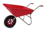 Small Image of Garden Wheelbarrow - Picador Red 85ltr
