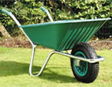 Small Image of Garden Wheelbarrow - Green Clipper 90 to 110 ltr
