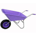 Small Image of Garden Wheelbarrow - Picador Lilac 85ltr