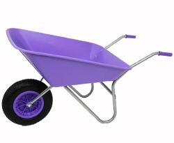 Image of Garden Wheelbarrow - Picador Lilac 85ltr