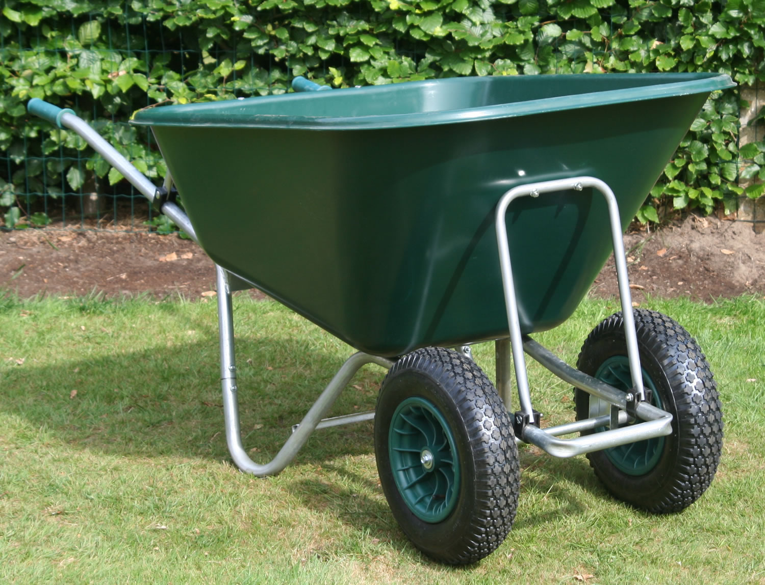 Delightful Image Of Garden Wheelbarrow   Samson 200 To 275ltr With Flat Proof Tyre
