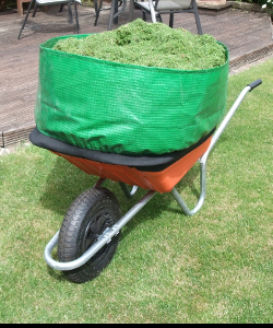 Image of Wheelbarrow Booster - Load Carrying Attachment