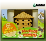 Minibug Interactive Solitary Bee House - MSBH1