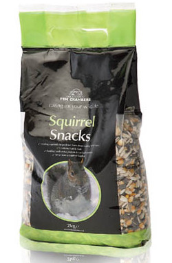 Image of Tom Chambers Squirrel Snacks - 2 Kg