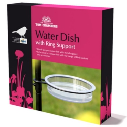 Image of Bird Station Water Dish with Ring Support