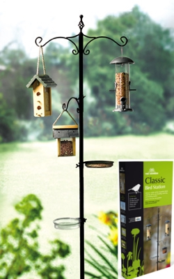 Image of Classic Bird Feeder Station