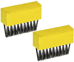 Image of Wolf Garden Multi Change Weeding Brush Replacement Heads - FBME