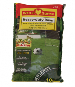 Image of Wolf Hard Wearing Lawn Seed - 10SQM
