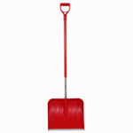 Small Image of Wolf Garden Multi Change Plastic Snow Shovel with D-Grip Handle