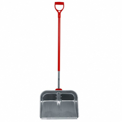 Image of Wolf Garden Multi Change Aluminium Snow Shovel with D-Grip Handle- SNM45