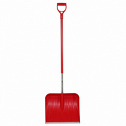 Image of Wolf Garden Multi Change Plastic Snow Shovel with D-Grip Handle