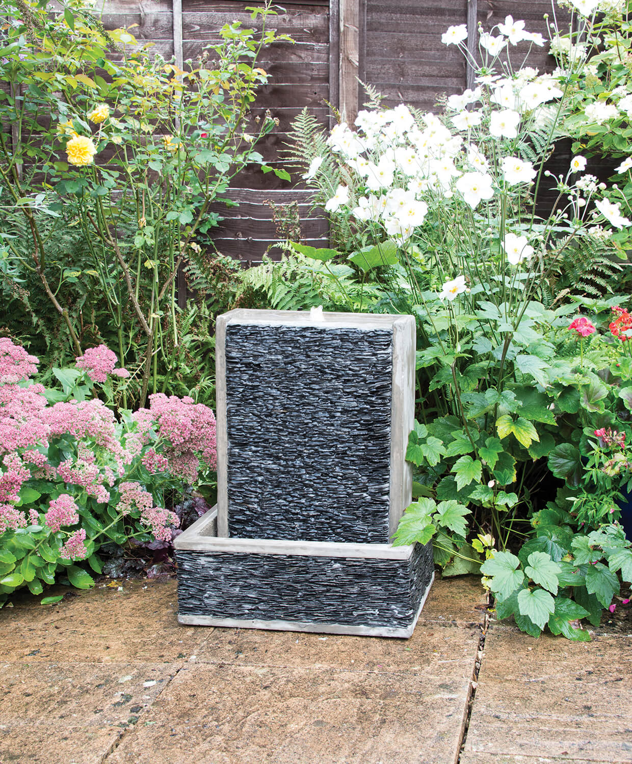 Woodlodge Harbour Slate Wall Water Feature 163 185 24