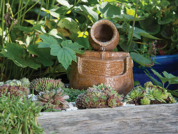 Image of Woodlodge Don Mini Pot And Flow Water Feature