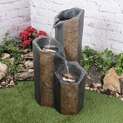 Small Image of Woodlodge Derwent Hexagonal Water Feature