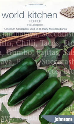 Image of World Kitchen Hot Jalapeno Pepper Seeds