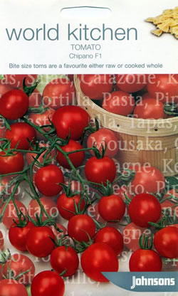Image of World Kitchen Chipano F1 Tomato Seeds
