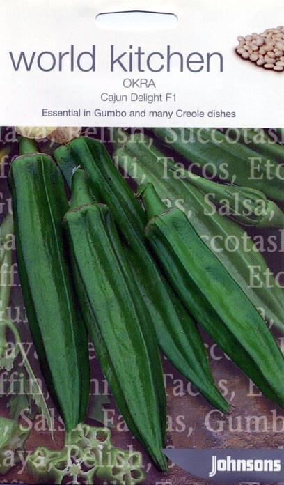 World kitchen cajun delight f1 okra seeds for La kitchen delight