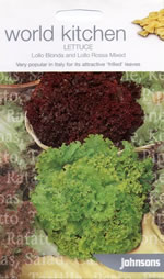 World Kitchen Lollo Bionda and Rosso Mixed Lettuce Seeds