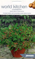 World Kitchen (Alpine) Baron Solemacher Strawberry Seeds