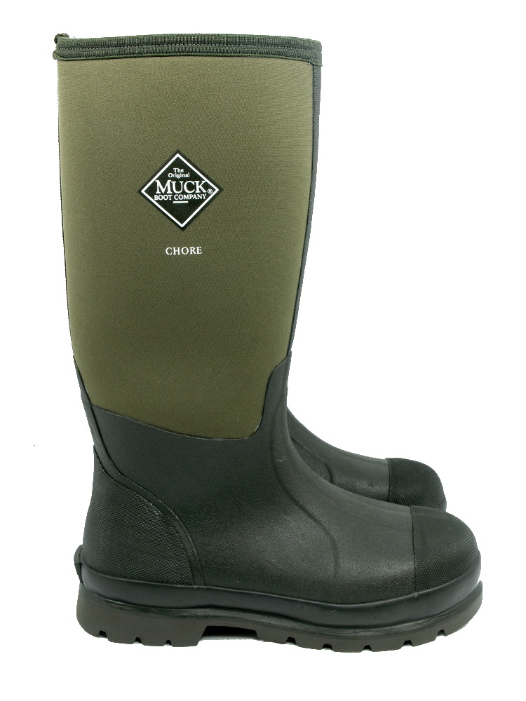 Muck Boot Chore Hi Moss 163 77 Garden4less Uk Shop