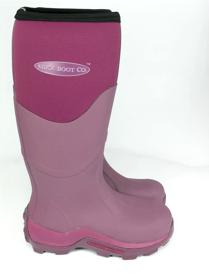 Muck Boot - Greta Tall - Fuchsia - £74.99 | Garden4Less UK Shop