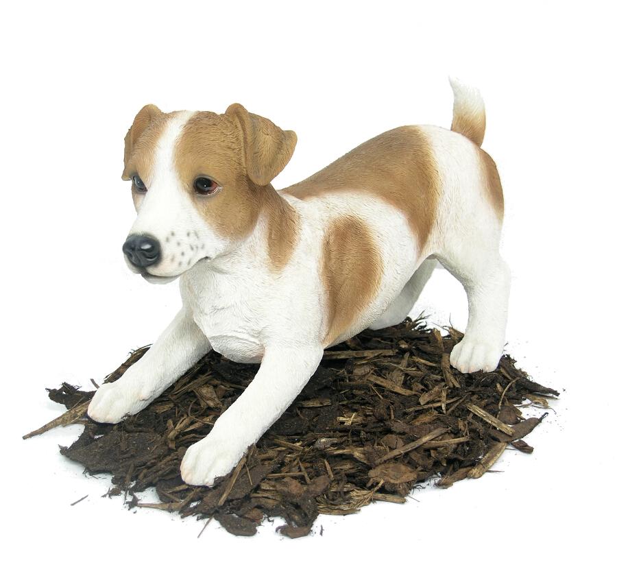 Jack Russell Dog Resin Garden Ornament 163 37 99