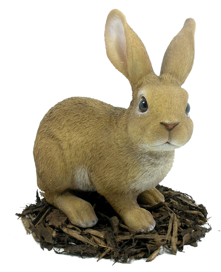 Large Rabbit Resin Garden Ornament 163 24 99