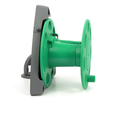 Hozelock Wall Mounted Reel with 30m Capacity - 2420 - Spin Image