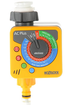 Hozelock AC Plus Water Timer - 2700 - Spin Image