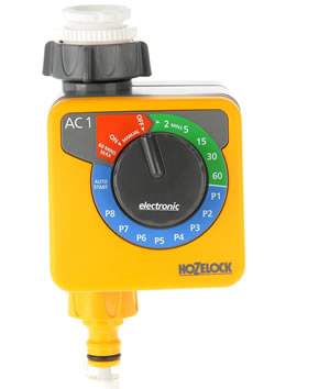 Hozelock AC1 Aqua Control 1 Water Timer - 2705 - Spin Image