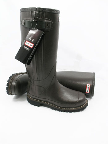 Hunter Balmoral Sovereign Wellies Brown