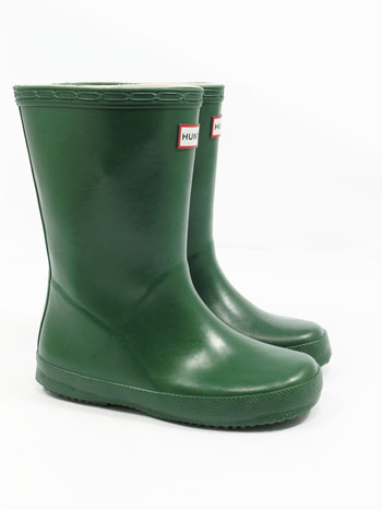 Kids First Hunter Wellies - Green UK 7 - Spin Image