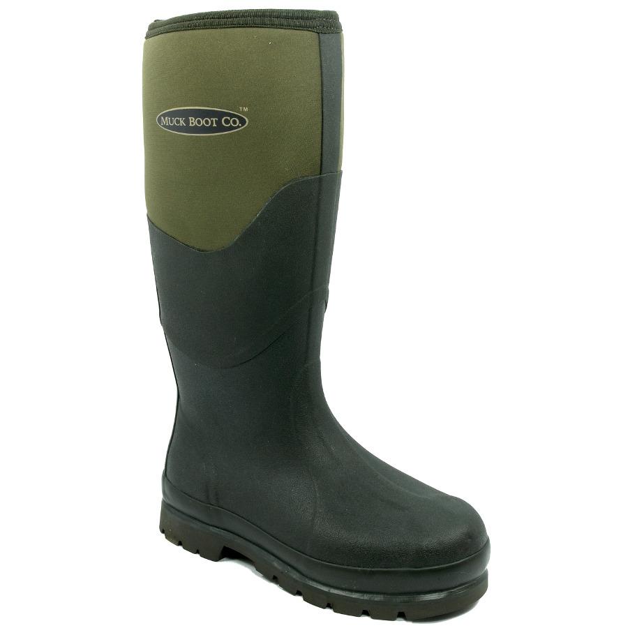 Muck Boot Chore 2K Moss Green Neoprene Wellies XV_3726