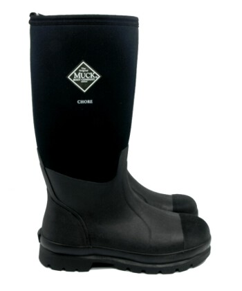 Muck Boot - Chore Hi - Black - UK 12 / EURO 47 - Spin Image