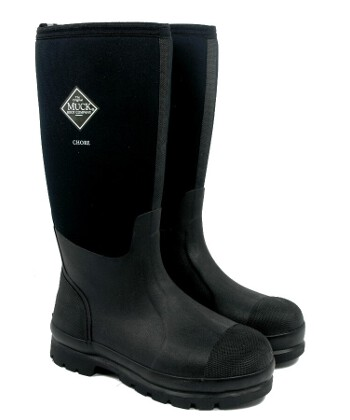 Image of Muck Boot - Chore Hi - Black - UK 8 / EURO 42