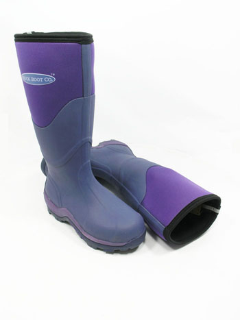 Muck Boot - Greta Tall - Violet - UK 6 / EURO 39 - Spin Image