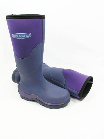 Image of Muck Boot - Greta Tall - Violet - UK 8 / EURO 42