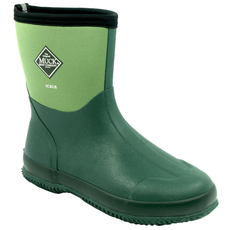 Muck Boot - Scrub - Moss - £49.5 | Garden4Less UK Shop