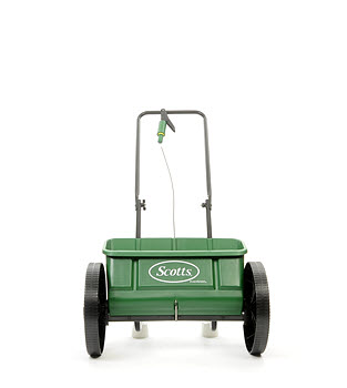 Scotts EvenGreen Drop Lawn Spreader - Spin Image