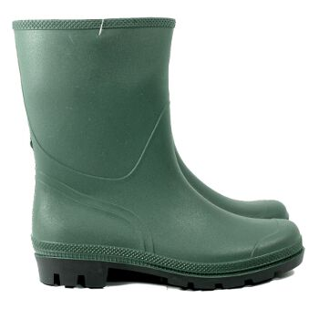 Town and Country Half Length Essentials Wellies -UK Size 7/ Euro 40/41 - Spin Image