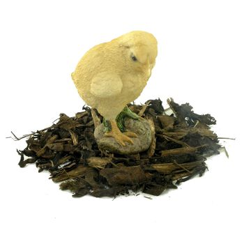 Image of Buff Chick - Resin Garden Ornament
