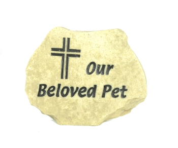 Our Beloved Pet - Memorial Stone - Spin Image