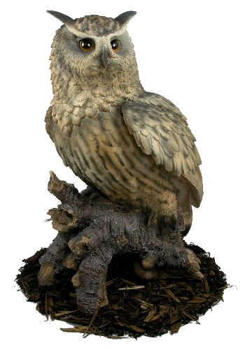 Image of Eagle Owl - Resin Garden Ornament