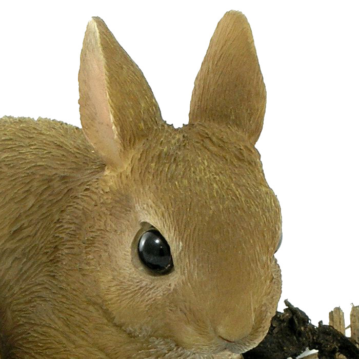 Baby Rabbit Resin Garden Ornament 163 4 99 Garden4less