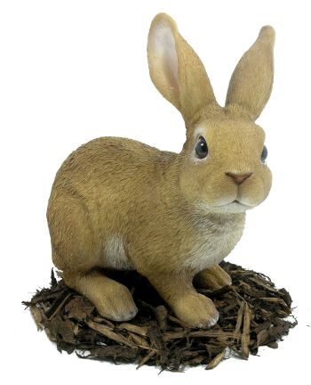 Image of Large Rabbit - Resin Garden Ornament